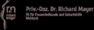 Priv.-Doz. Dr. Richard Mayer – FA für Frauenheilkunde und Geburtshilfe Logo